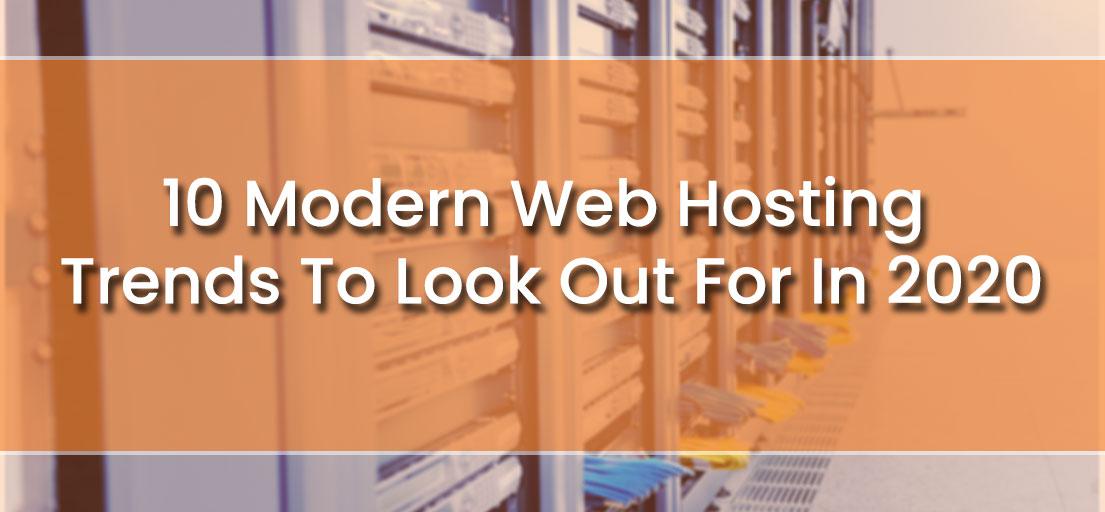 10 modern web hosting trends
