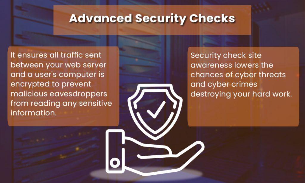 Advanced Security Checks