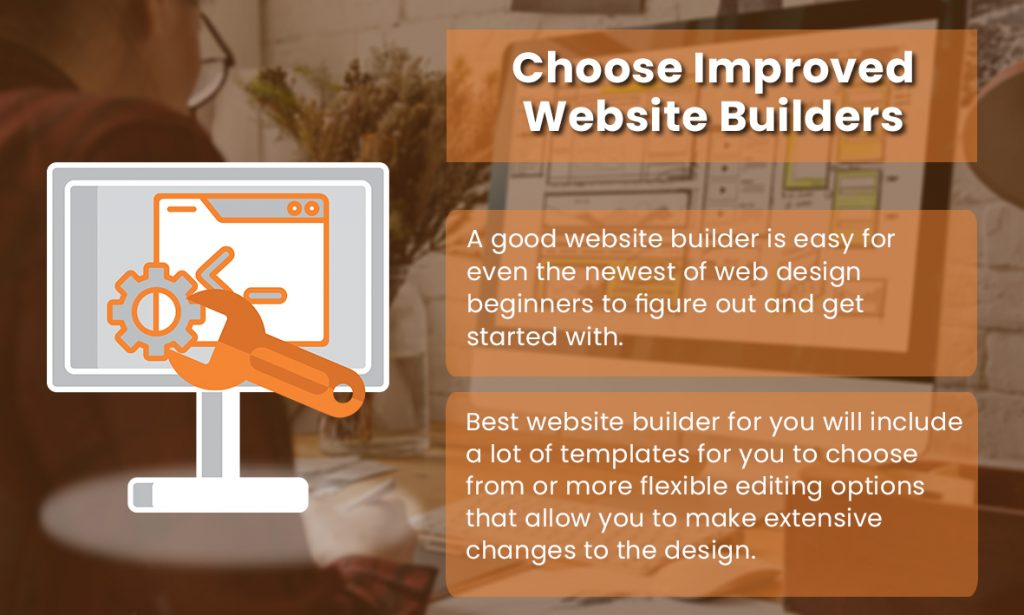 Choose Improved Website Builder