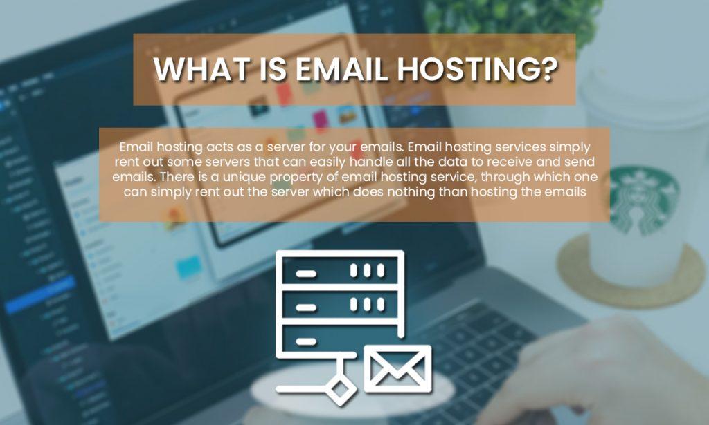 Email hosting vs Web hosting