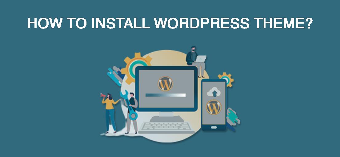 How do I manually install a WordPress theme?
